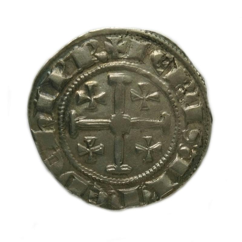 Gros d'argent Henri II de Chypre Imag0319
