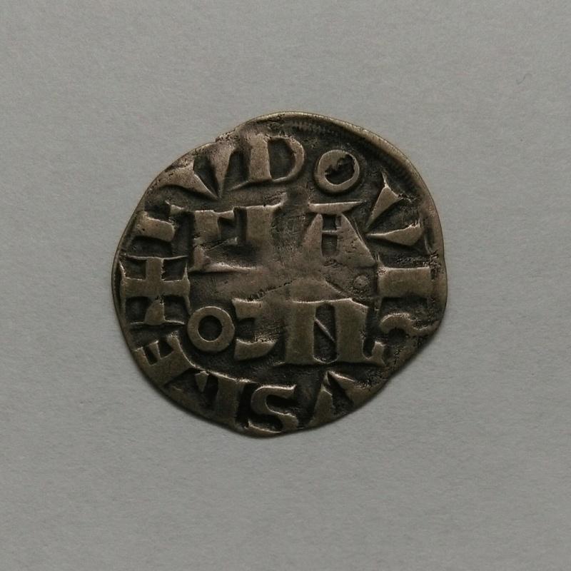 Denier parisis 4ème type Louis VII le Jeune. Imag1410
