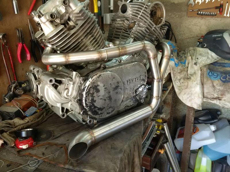 XV 750 SE >> XV 1100 Virago Cafe racer - Page 7 17854710
