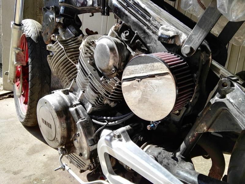 XV 750 SE >> XV 1100 Virago Cafe racer - Page 6 Img_2085