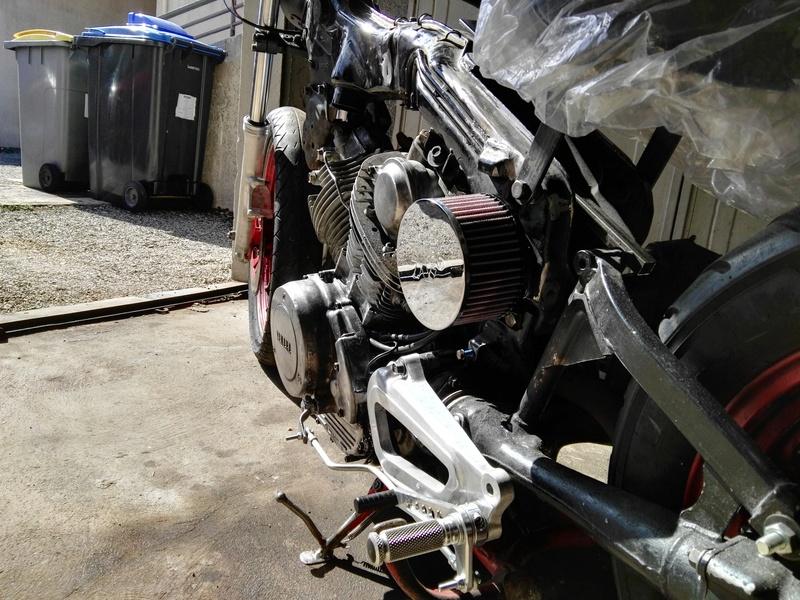 XV 750 SE >> XV 1100 Virago Cafe racer - Page 6 Img_2086