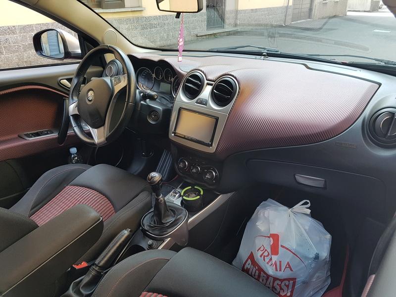 Alfa Romeo MiTo, lavaggio lucidatura e protezione  20170411