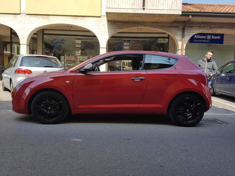 Alfa Romeo MiTo, lavaggio lucidatura e protezione  20170421