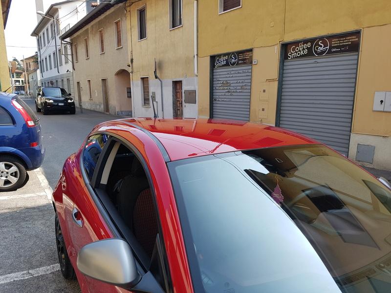 Alfa Romeo MiTo, lavaggio lucidatura e protezione  20170422