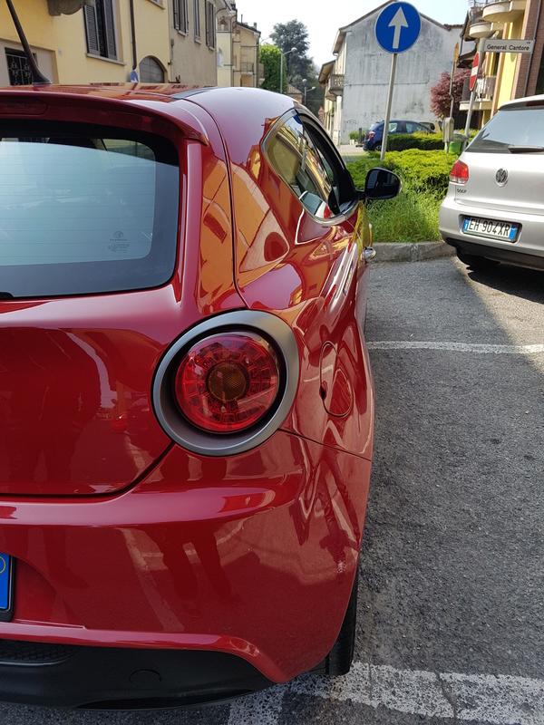 Alfa Romeo MiTo, lavaggio lucidatura e protezione  20170424