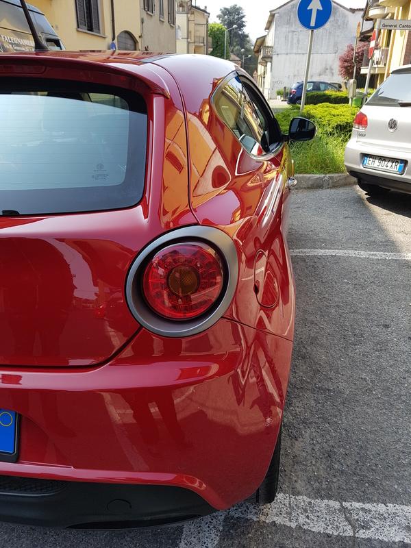 Alfa Romeo MiTo, lavaggio lucidatura e protezione  20170425