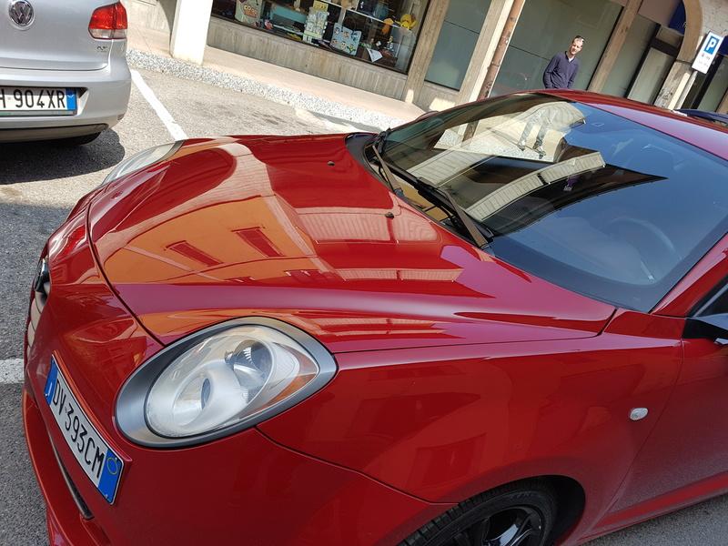 Alfa Romeo MiTo, lavaggio lucidatura e protezione  20170426
