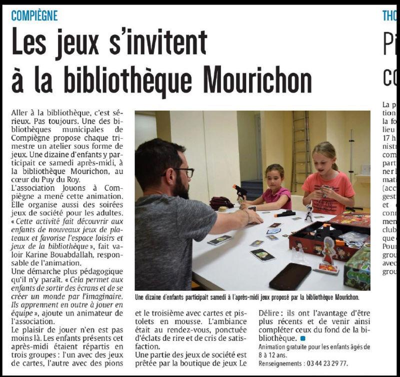 Médiathèque Mourichon : Planning des goûters Jeux pour 2017  Mouric10