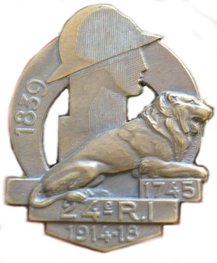 Les insignes d'Infanterie en 1939-1940 24_ri10