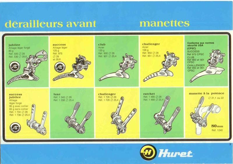 manette de derailleur  Huretc10