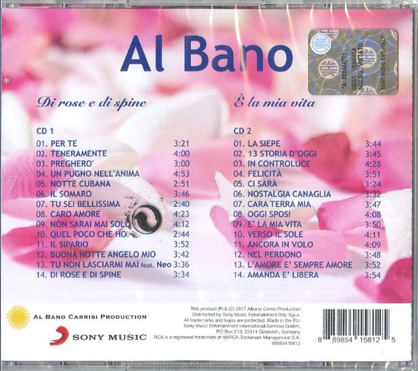 Al Bano Carrisi  & Romina Power  - Page 2 Di_ros11
