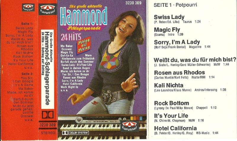 Ted Weber – Die Große Aktuelle Hammond Schlagerparade Front10