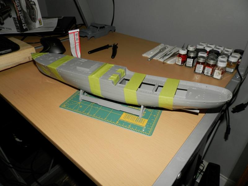 HMCS Snowberry Flower-Class Corvette (1:144 scale) P3270015