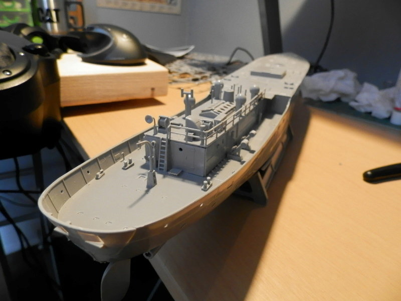 HMCS Snowberry Flower-Class Corvette (1:144 scale) P3310010
