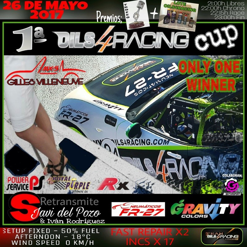 Oils for racing Cup Oilfor10
