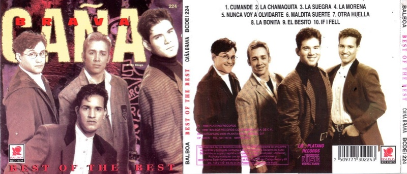 Caña Brava - The Best Of The Best (1996) Cayia_10