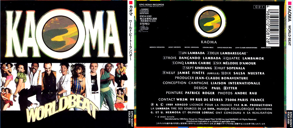 Kaoma - WorldBeat (Lambada Album SoundTrack)(1989) Usercloud Kaoma_10