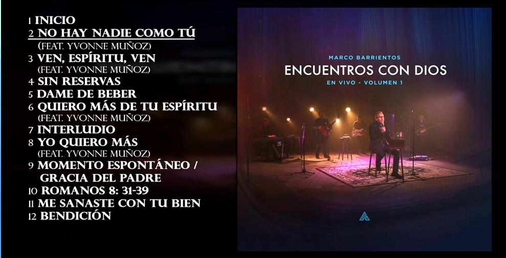 Marco Barrientos - Encuentros con Dios Vol.1 (En Vivo)(2017) Marco_10