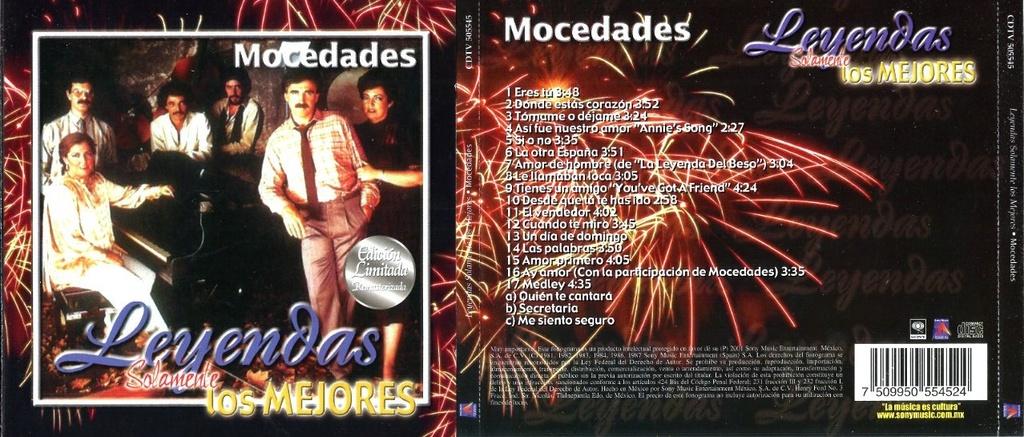 Mocedades - Leyendas: Solamente los mejores (2001)(Depositfiles) Moceda11