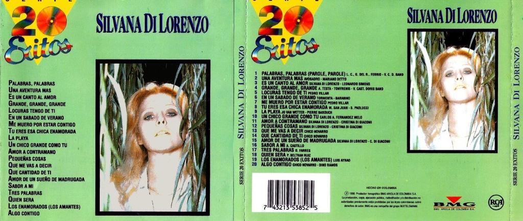 Silvana Di Lorenzo - Serie 20 Exitos (1996) Depositfiles Silvan10
