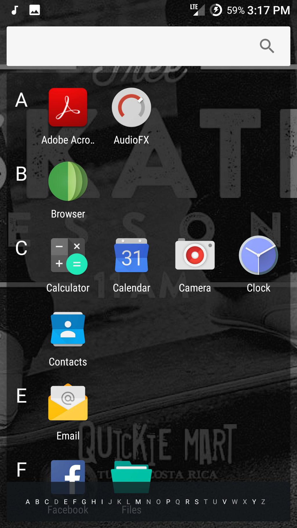 Current Homescreens Screen56