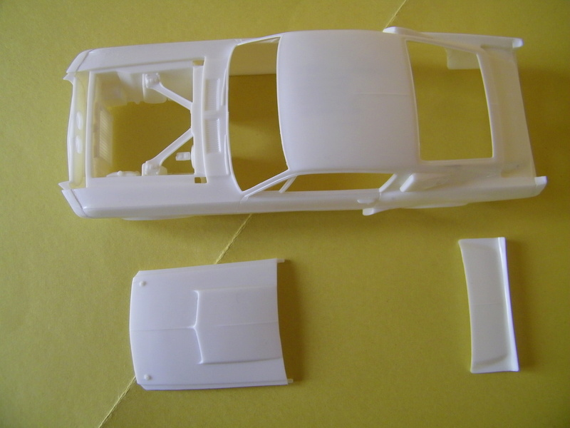 Ford Mustang Shelby GT 350 de 1967 - AMT 1/24e 100_4210
