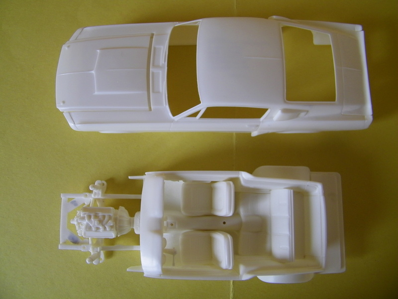 Ford Mustang Shelby GT 350 de 1967 - AMT 1/24e 100_4311