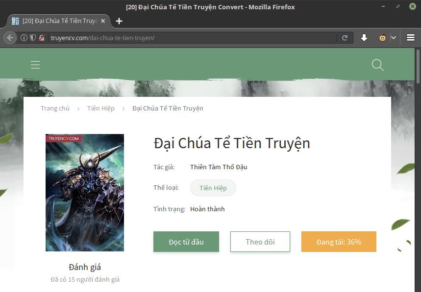 [Userscript] TruyenCV downloader Truyen11