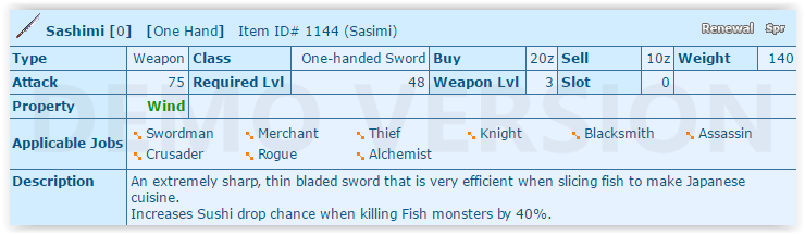 Sashimi Knife Quest Screen11