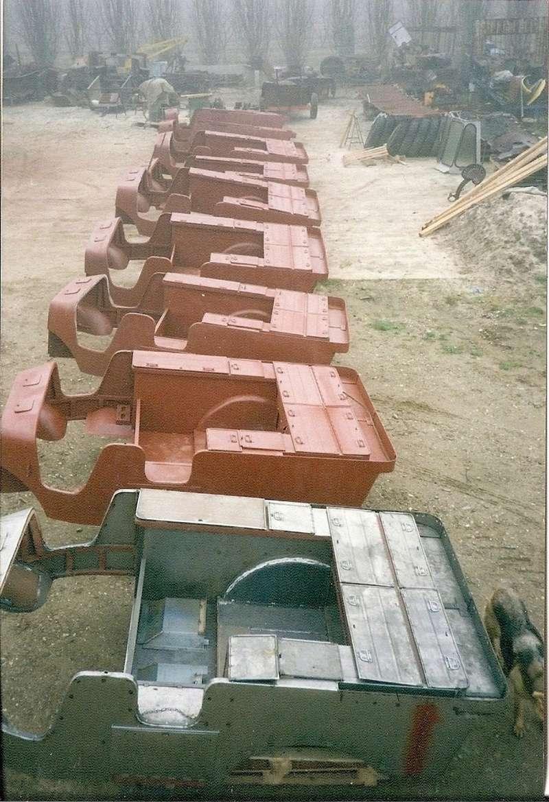 les caisses de V15T d'André CLARA 133