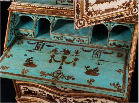 La marqueterie de papier XVIIIème, ou Arte Povera 00310