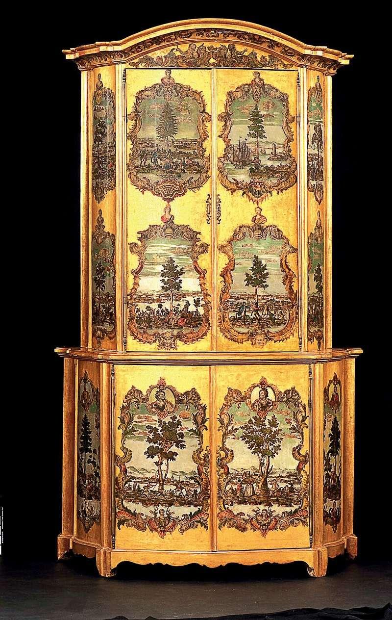 La marqueterie de papier XVIIIème, ou Arte Povera 010110