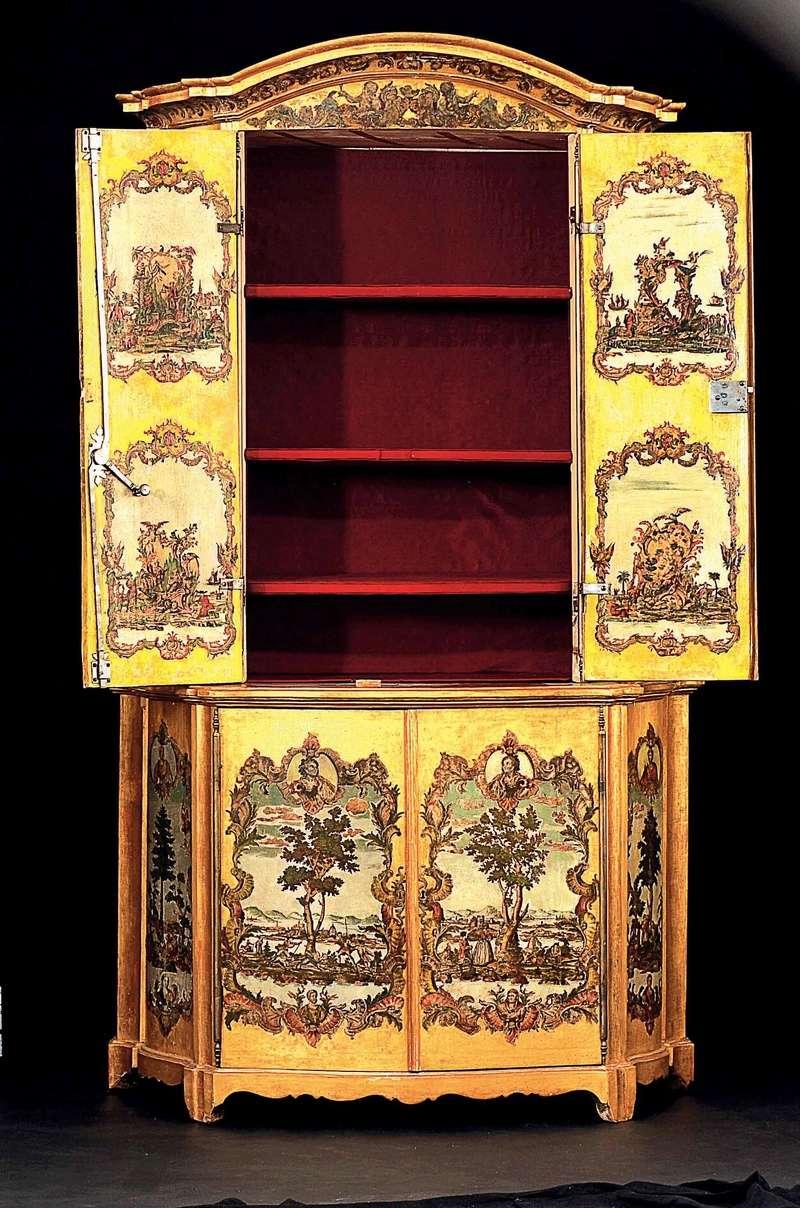 La marqueterie de papier XVIIIème, ou Arte Povera 01110