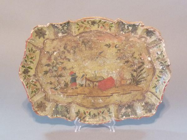 La marqueterie de papier XVIIIème, ou Arte Povera 10110