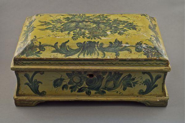 La marqueterie de papier XVIIIème, ou Arte Povera 10310