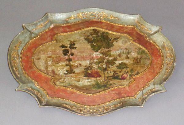 La marqueterie de papier XVIIIème, ou Arte Povera 10410