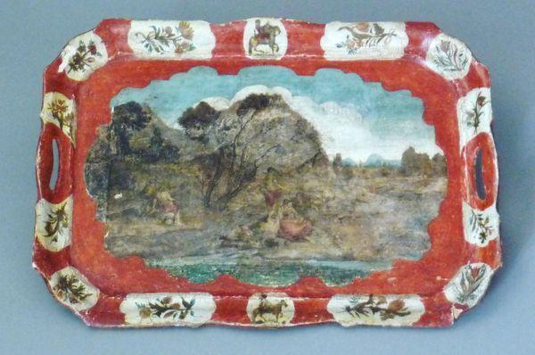 La marqueterie de papier XVIIIème, ou Arte Povera 10510