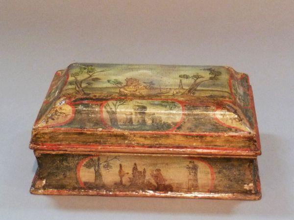 La marqueterie de papier XVIIIème, ou Arte Povera 10610