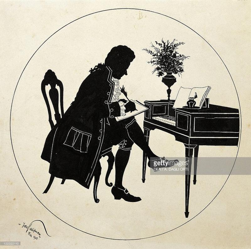 """silhouette - L'art du  """" Portrait en Silhouette """" ou """" à la silhouette """" 12232210"""