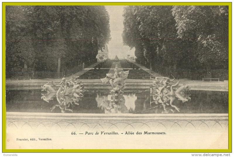 Versailles,   L'Allée d'Eau, ou Allée des Marmousets 137_0011