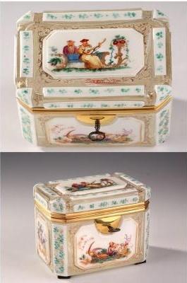 Perruques et  boîtes à perruques au XVIIIe siècle 17415810