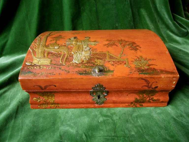 Perruques et  boîtes à perruques au XVIIIe siècle 17650910