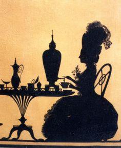 """silhouette - L'art du  """" Portrait en Silhouette """" ou """" à la silhouette """" 3030d310"""