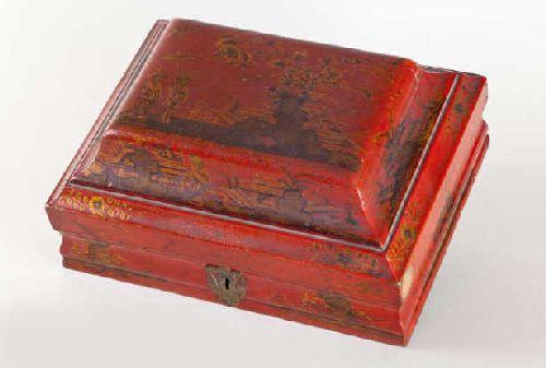 Perruques et  boîtes à perruques au XVIIIe siècle 405910