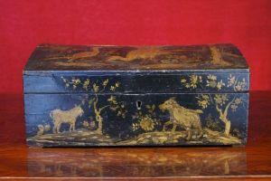 Perruques et  boîtes à perruques au XVIIIe siècle 406310