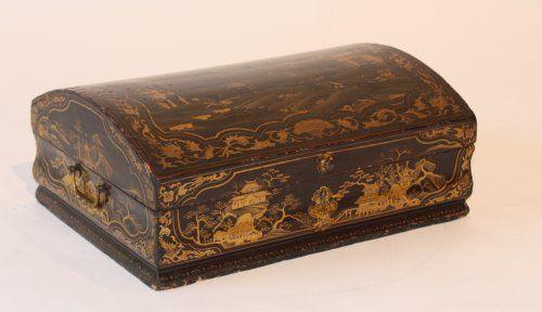 Perruques et  boîtes à perruques au XVIIIe siècle 406510