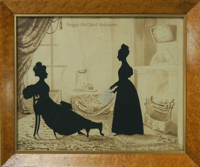 """silhouette - L'art du  """" Portrait en Silhouette """" ou """" à la silhouette """" 47bfeb10"""