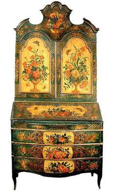 La marqueterie de papier XVIIIème, ou Arte Povera 6fcb0310