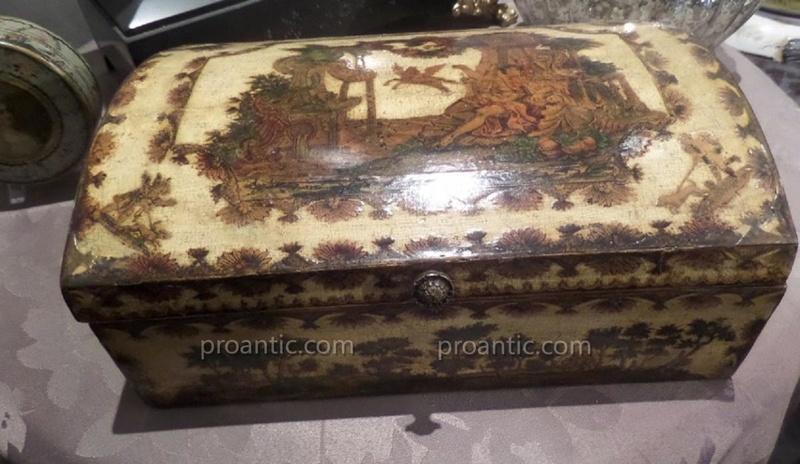 Perruques et  boîtes à perruques au XVIIIe siècle 88122-10