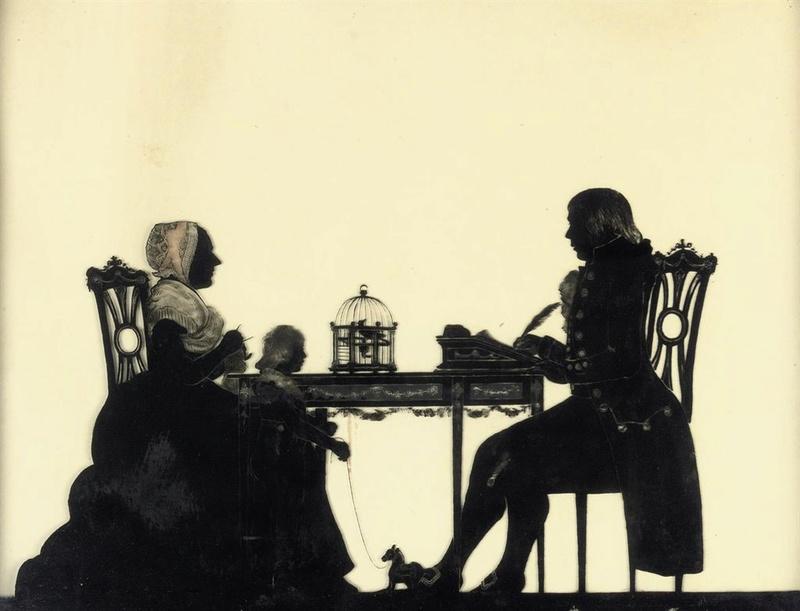 """silhouette - L'art du  """" Portrait en Silhouette """" ou """" à la silhouette """" A_reve10"""